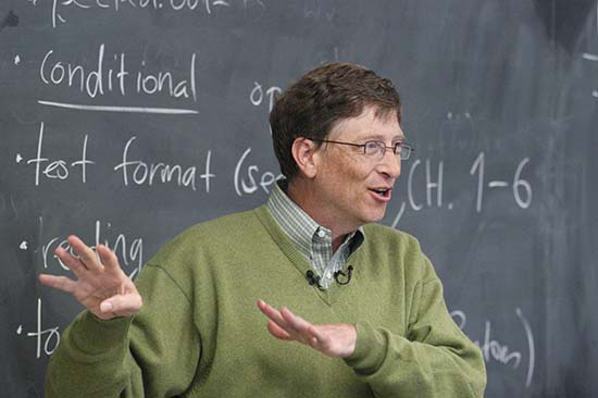 Bill Gates: Bumps in the Road and Making a Dent in Education