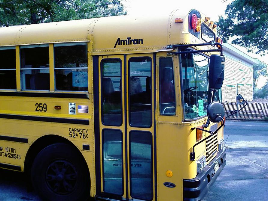 school bus essay