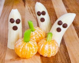 Banana mummies and clementine pumpkins!