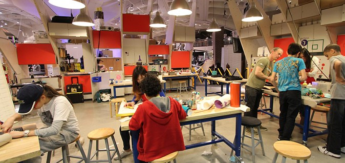 Making Space Combining Maker Space And Learning