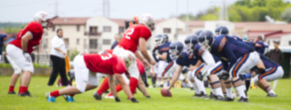 Heat-related injuries are common for football players.