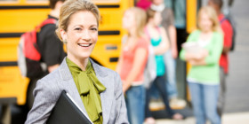 School principals have a crucial role in shaping students' values.